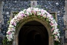 Adorned Church's / Churches Decorated With Stunning Flowers From Tudor Rose Florist Bury St Edmunds - 01284 760688