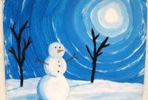 hiver maternelle / Neige bonhomme de neige activités pour enfants