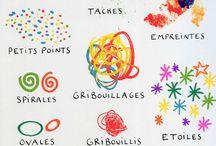"""GRAPHISME et """"gym des doigts"""" / Pour bien tenir son crayon et maîtriser le geste graphique"""