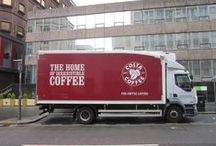 COSTA COFFEE / I'm an auditor for Costa Coffee, I travel round to the various Costa franchises ensuring Costa's standards are being maintained.