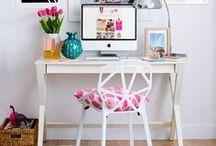 Oficina-taller / Ideas para ordenar y organizar tu área de trabajo. Organiza y decora tu espacio creativo. Un espacio donde quieras pasar tus horas de trabajo. Oficina en casa, trabajar desde casa, ideas para organizar, ideas para decorar escritorios, organizar tu espacio,