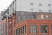 Ghost Signs in the UK / Old, Vintage Advertising Signs on the sides of buildings