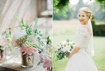 Hannah & Ben featured on Love My Dress / A Beautiful Pastel Colour Palette For This Wedding