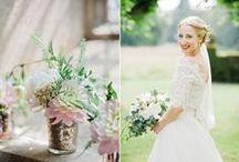 Hannah & Ben / A Beautiful Pastel Colour Palette For This Wedding