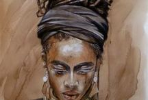 Monica Peralta' s art / Portraits, paintings and art reproductions