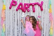 Every Party has a Theme / Get creative with your child's party and celebrate in Style!