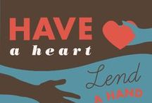 Helping Hands / We love encouraging our kids to love on their Community!
