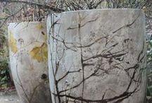 Concrete/cement crafts