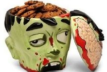 Zombie Invasion / Ideas to disguise yourself before the Zombie Invasion.  A fun collection of Zombie Halloween costumes, cool Zombie make up tricks, undead decorating ideas, fiendishly fun Zombie recipes and more.   / by Happy Halloween on Squidoo