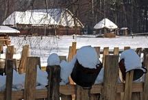 Zima w skansenie / Winter in openair museum