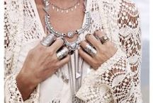 Boho Jewelry ♥ / Adom jourself with these bohemian treasures#gold#silver#stones# / by Mariska