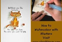 Colouring / Copics /Promarkers /Pencils