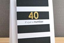 Cards- Age celebrations