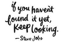 Words of wisdom / Fashion and entrepreneurial inspired quotes  / by Zindigo