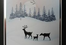 Cards- Christmas stamps and folders I have