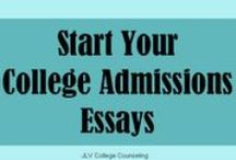 College Admission Essays / The personal statement or college essay is a very important part of the college application. The essay can set up apart from other applicants. This board provides tops for the college admissions essay.