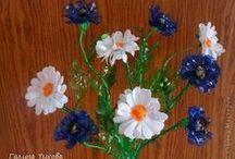 kvety z plastu
