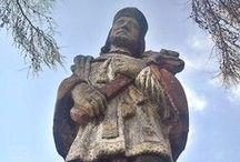 Pomniki / fotografie kapliczek i krzyży przydrożnych oraz innych figurek i pomników