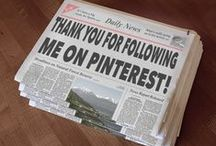 WELCOME TO MY PINTEREST PAGE / by Christine P
