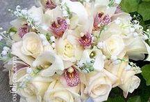 Ramos de flores, decoraciones / Ramos flores, decoración bodas, novios