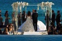 Novias, novios, decoración bodas