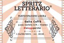 Incontri Spritz Letterario® a Vicenza