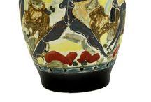 Cerámica de Jaime Goded. / Algunas de la piezas de cerámica realizadas en cerámica en el taller de Guadalupe y Raúl. Hace mucho tiempo...