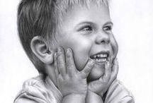 portréty kreslené