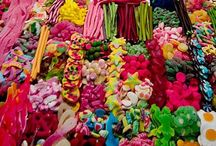 LOLLY HEAVEN / Food and lollies.  Mainly lollies but oh well, I will do a food board too. Enjoy this board