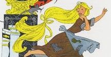 cinderella / Classical illustrations of Cinderella stories