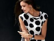 Checks and dots / Checks and dots are on-trend and can be mixed and matched for a unique look.