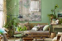 HOME INSPIRATION / maison, decoration, vintage, couleurs