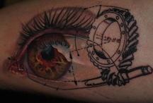 amazing, elaborated tattos