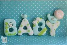 Baby Cookies / Ideas / by Momma Zinga