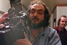 KUBRICK FILMING / Pictures of Stanley Kubrick at work on the set of his films / by Art of Cinema