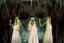 Norns / Urd, Verdandi, Skuld, the Nornir