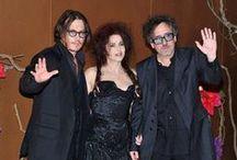 Carter and Burton / Tim Burton and Helena Bonham Carter