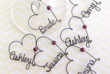 Bridesmaid Gifts / Gifts for your bridesmaids.