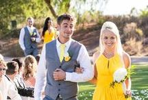 Youthfully Yellow / Every thing you need for a yellow color-themed wedding.
