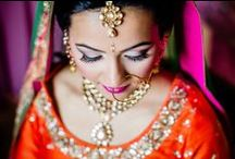 Indian Wedding Beauty Makeup / Ideas for Indian wedding bridal makeup / by Indian Wedding Site