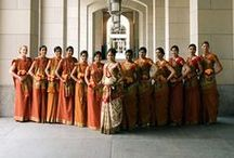 Indian Bridesmaids & Groomsmen / Pictures of the Indian wedding party - bridesmaids and groomsmen / by Indian Wedding Site