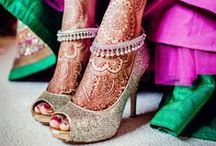 Indian Wedding Shoes / Indian wedding shoes / by Indian Wedding Site