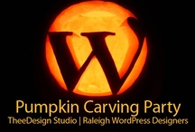 Pumpkin Carving Designs / This is a pumpkin design inspiration board for our upcoming Pumpkin Carving & Halloween Open House held at our web design office in Raleigh, NC! / by TheeDesign Studio