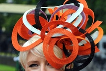 Orange Fascinator / #Orange #Fascinators #Online / by Forever Fascinators
