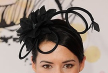 Black Fascinator / #Black #Fascinators by Fascinators Australia / by Forever Fascinators