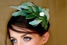 Green Fascinator / #Green #Fascinators by Fascinators Australia a Brisbane based business / by Forever Fascinators