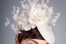 White and Ivory Fascinators /  #White and #Ivory #Fascinators #Online / by Forever Fascinators