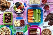 Lunchbox Loot / Ideas for healthy, varied food to pack in the lunch box.
