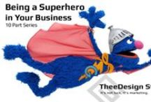 Being A Superhero in Business / It's a bird! It's a plane! It's… it's… an entrepreneur? Entrepreneurs and business owners have a lot of responsibility and face many challenges in growing their business. Luckily, TheeDesign is here to the rescue! / by TheeDesign Studio