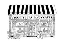 Biscuiteers / Brand creation for Biscuiteers (which we helped start up).